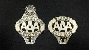 Two New York Area AAA Badges