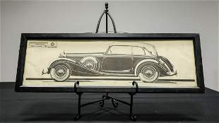Mercedes-Benz W29 Cabriolet B Factory Print
