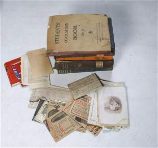 Old Advertising and Books