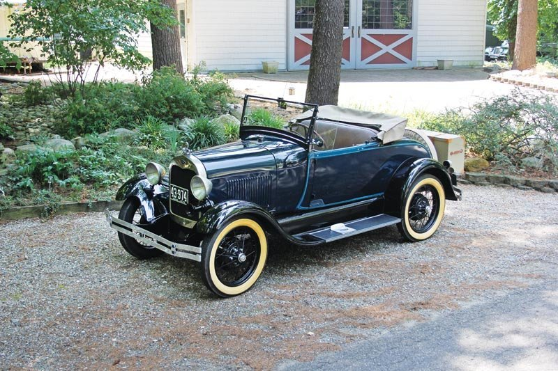 3: 1928 Ford Model A Roadster