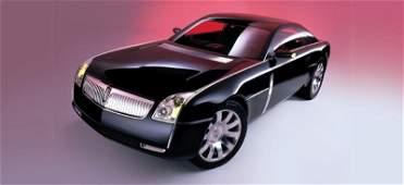 39: 2001 Lincoln MKIX Concept Car