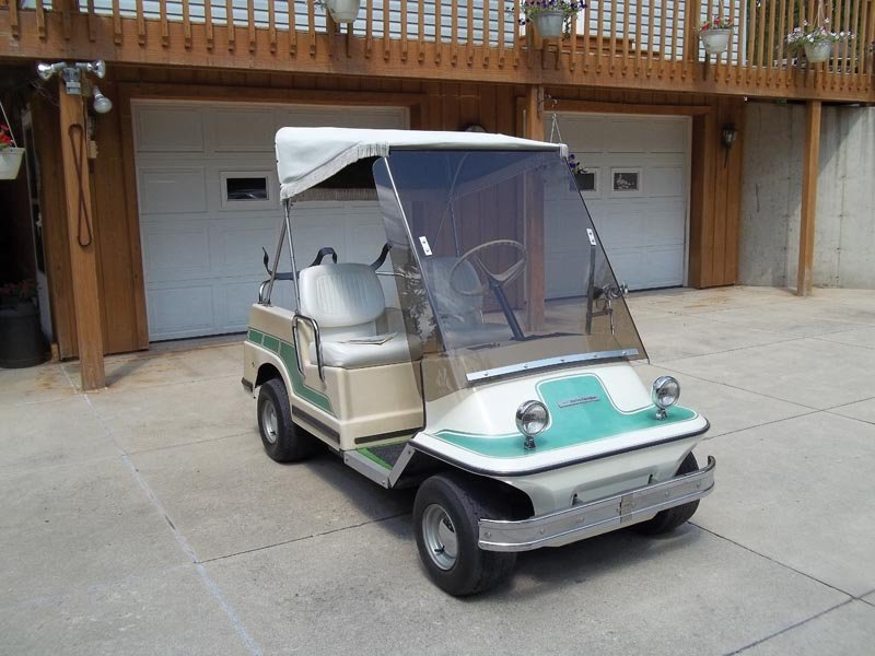 102: 1975 Harley-Davidson  Golf Cart