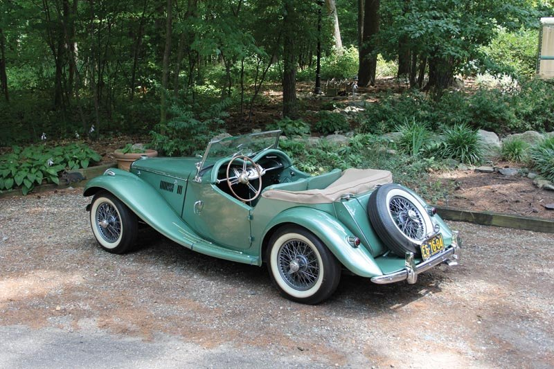103: 1954 MG TF Roadster