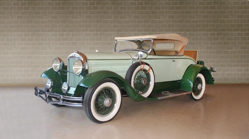 "104: 1929 Hudson ""Super Six"" Roadster"