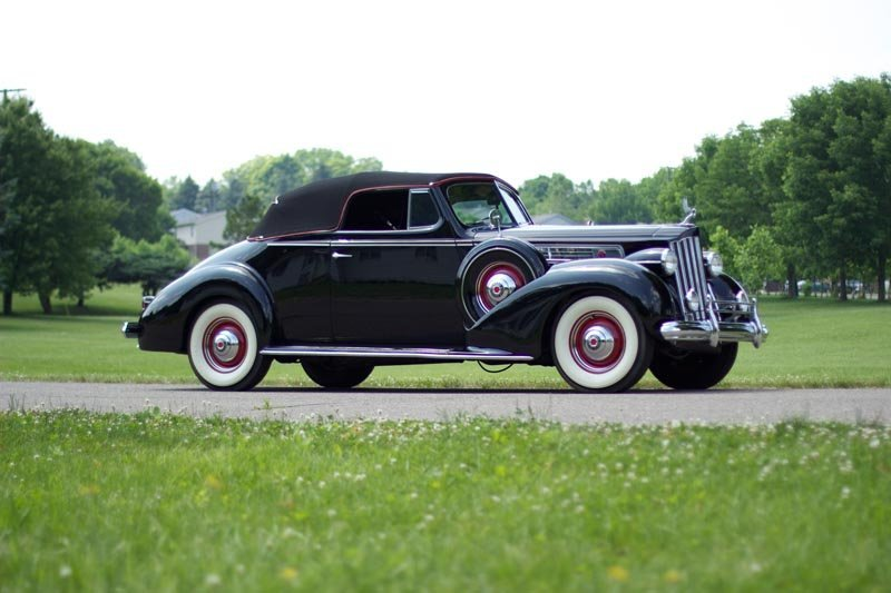 105: 1939 Packard Super Eight 1703 Convertible Coupe
