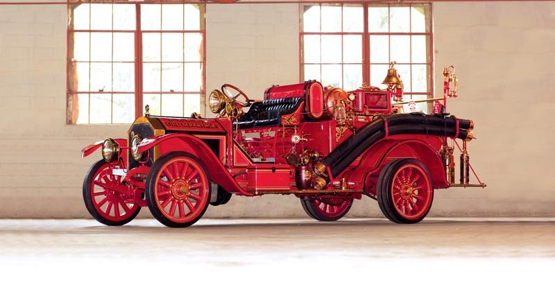 114: 1918 American LaFrance Type 40 Triple Combination