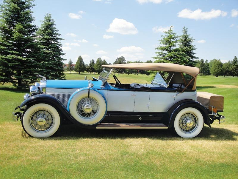 117: 1930 Lincoln Model L Dual Cowl Phaeton