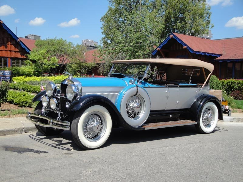 117: 1930 Lincoln Model L Dual Cowl Phaeton - 2