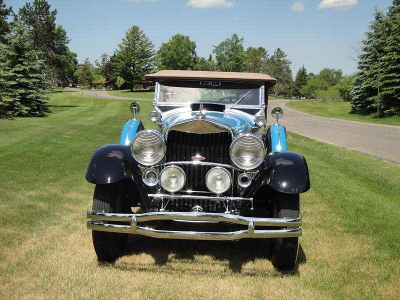 117: 1930 Lincoln Model L Dual Cowl Phaeton - 4