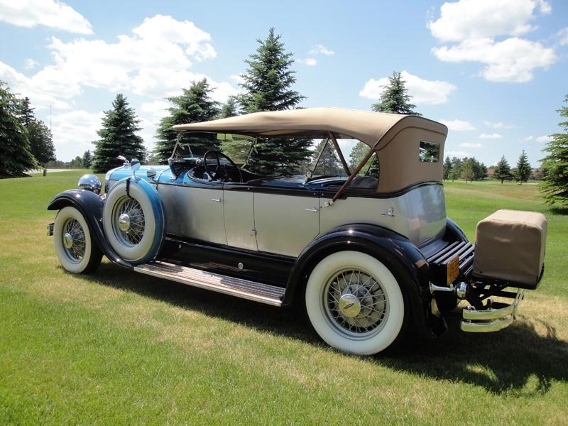 117: 1930 Lincoln Model L Dual Cowl Phaeton - 5