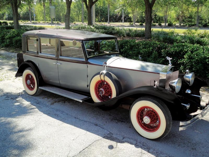 118: 1932 Rolls-Royce Phantom II Huntington Limousine
