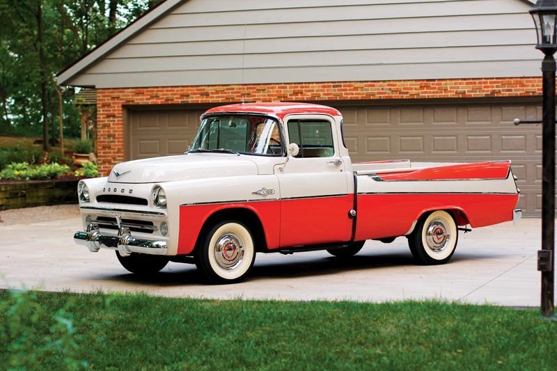 122: 1957 Dodge  D100 Sweptside Pickup