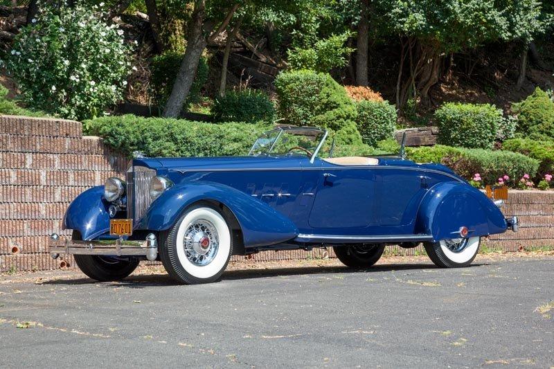 124: 1934 Packard Twelve Dual Cowl Sport Phaeton