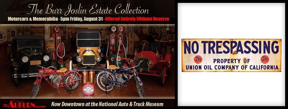 302: No Trespassing Union Oil  Company Sign