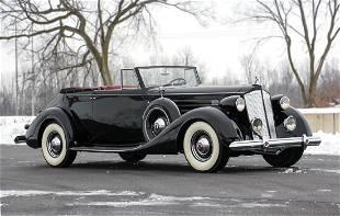 1937 Packard Twelve 1507 Convertible Victoria