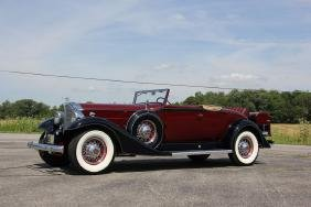 1933 Packard 1004 Coupe Roadster (ccca Full Classic)