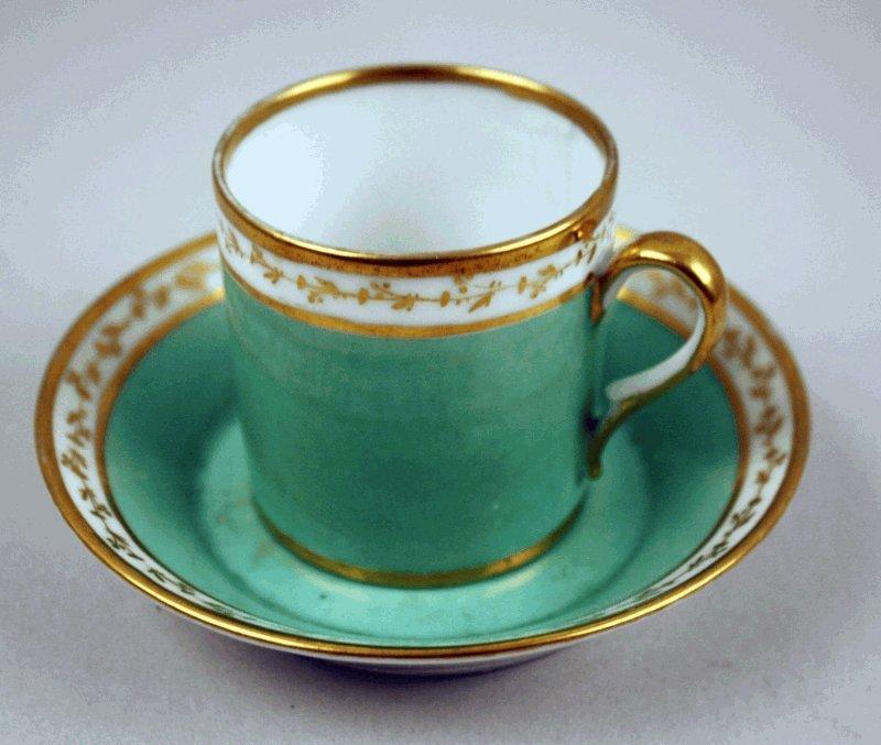 12: Biedermeier Tasse