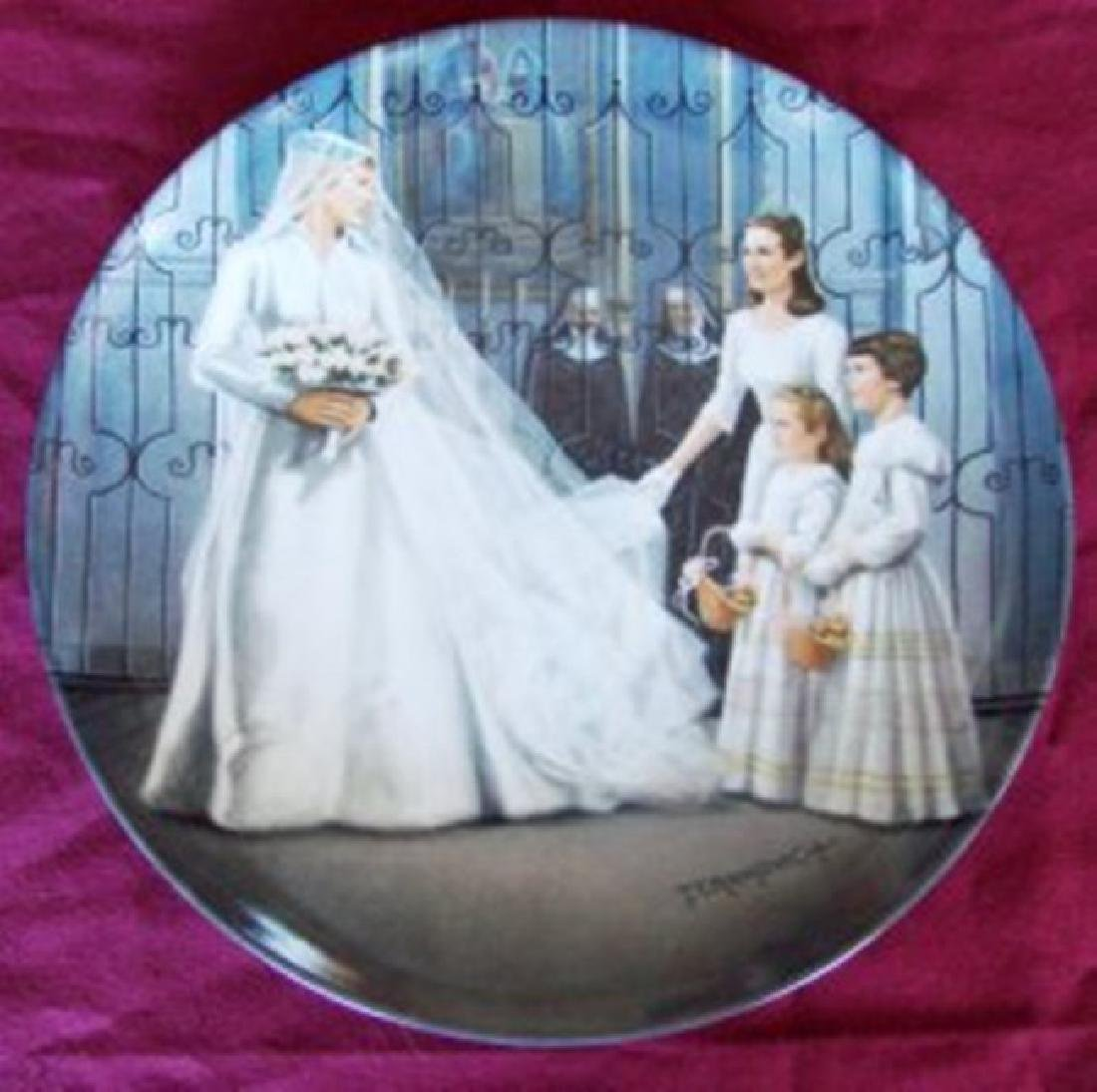 Maria Wedding Plate 7 Plate in The Sound of Music 1987
