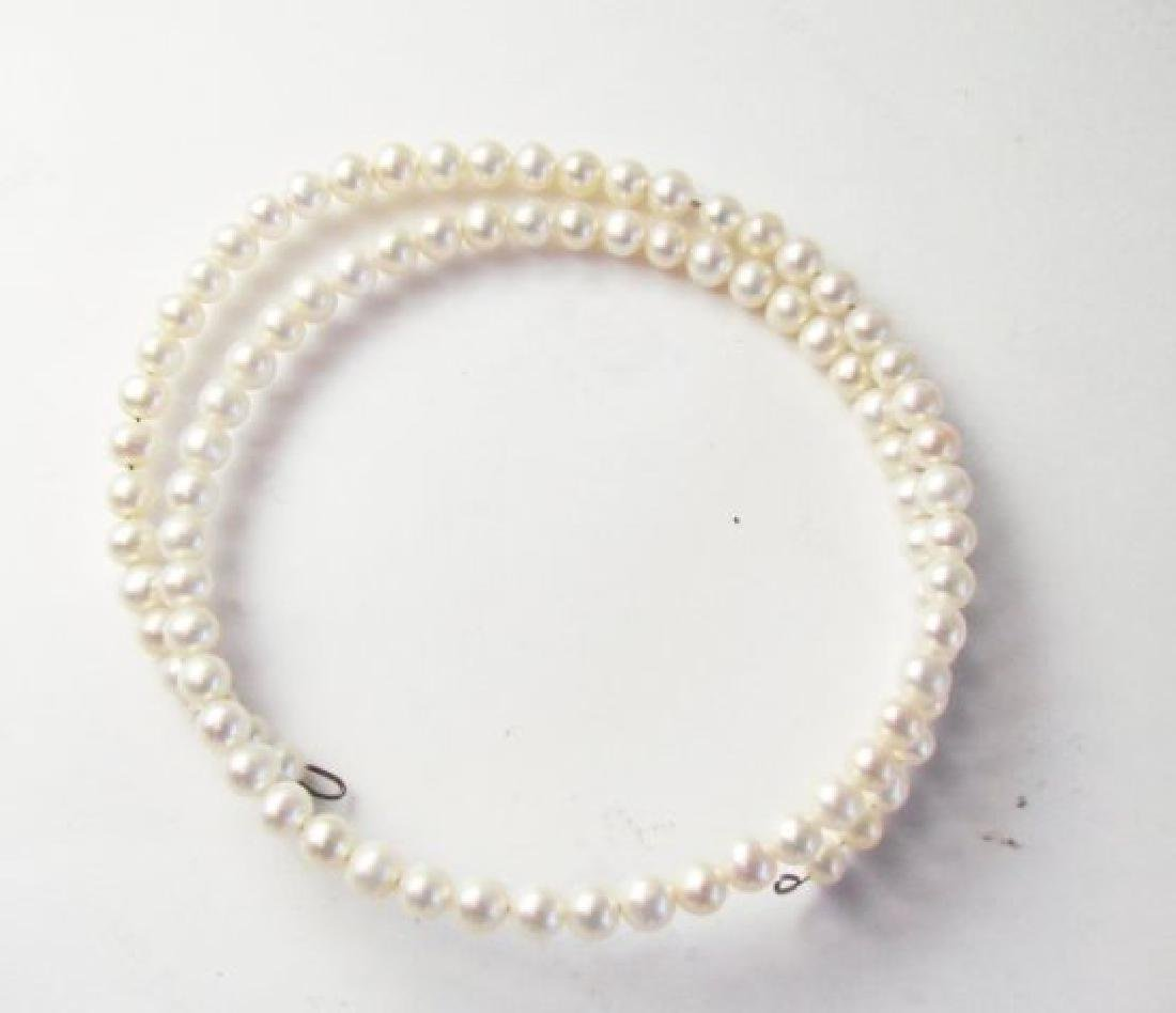 Necklace Culture Pearl Creamy White 7mm 16.1/2""