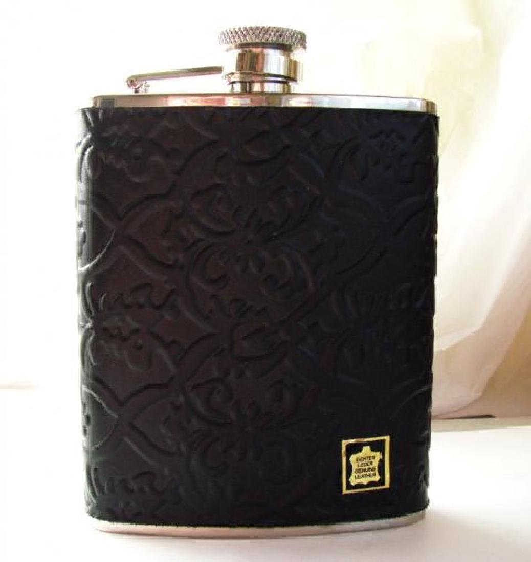 Quality Wine Bottle Stainless Leather Cover