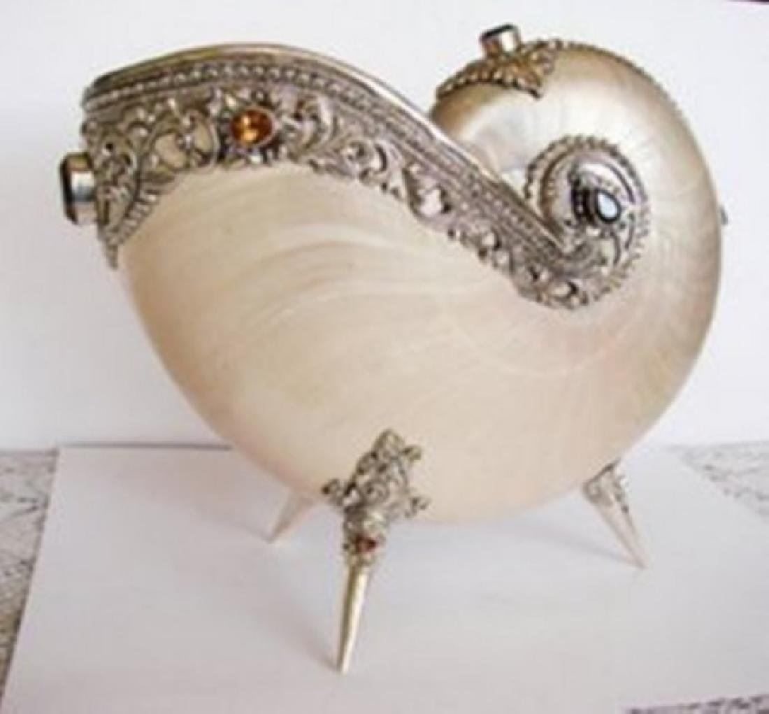 Collectible Item Snail Sell/Gemstone/Silver 925