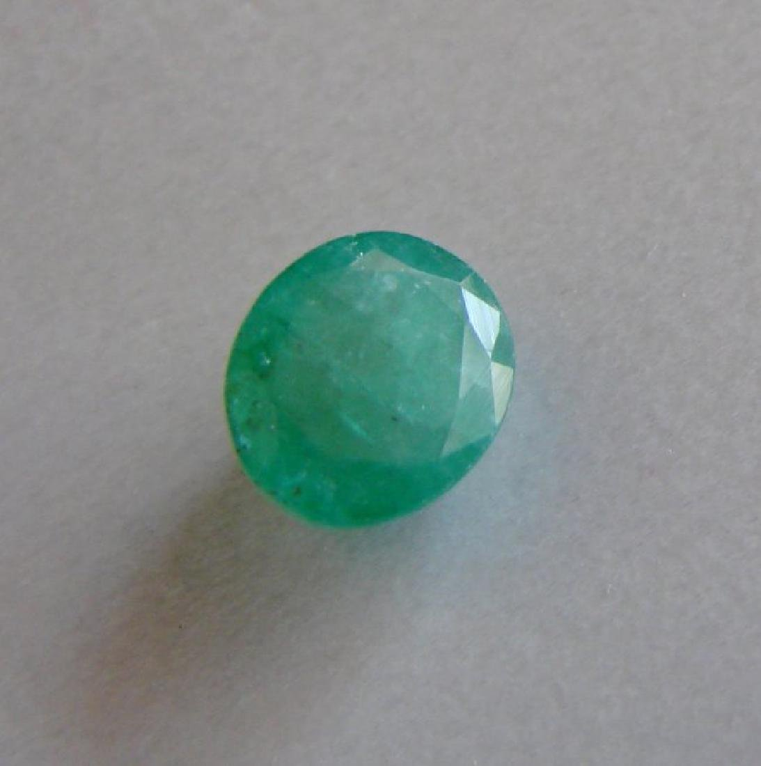 Natural Emerald Oval Shape 4.55Ct 10.2x8.9x6.9 mm