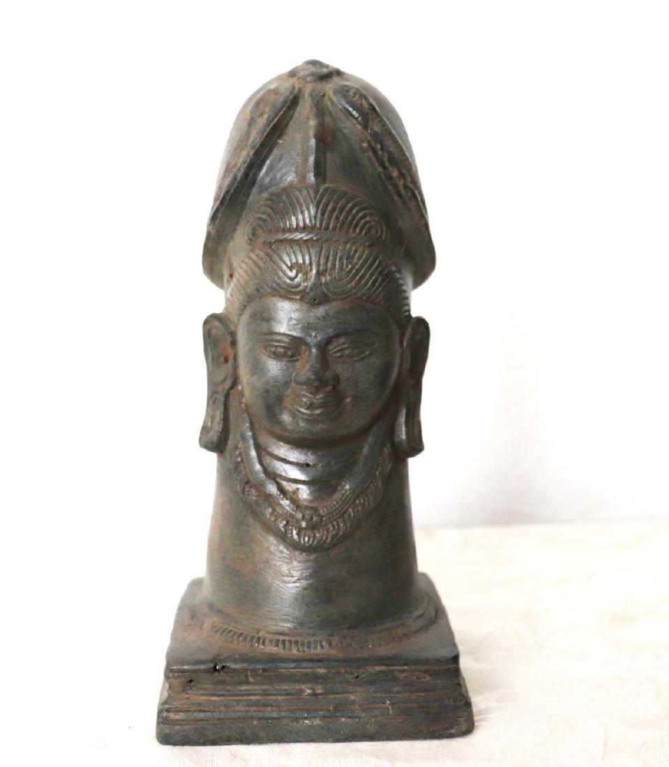 Takrut Mangorn Paya Nakarach Sacred Brass Statue 10th C - 2