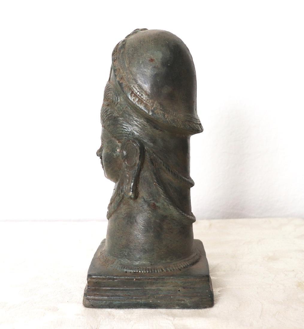 Takrut Mangorn Paya Nakarach Sacred Brass Statue 10th C - 3