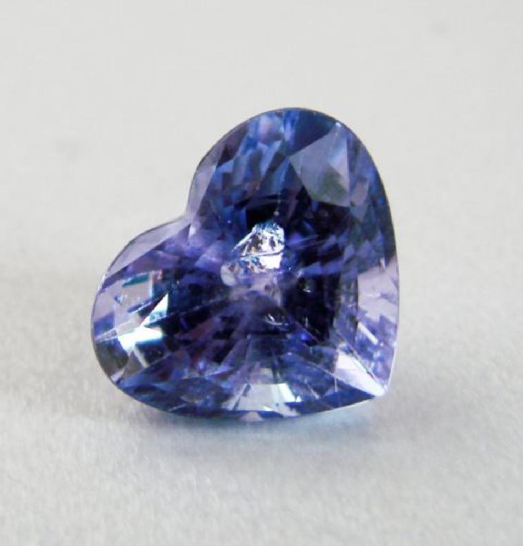 Natural Tanzanite Heart Facet 10.04Ct 14.4x12x9.5mm - 2