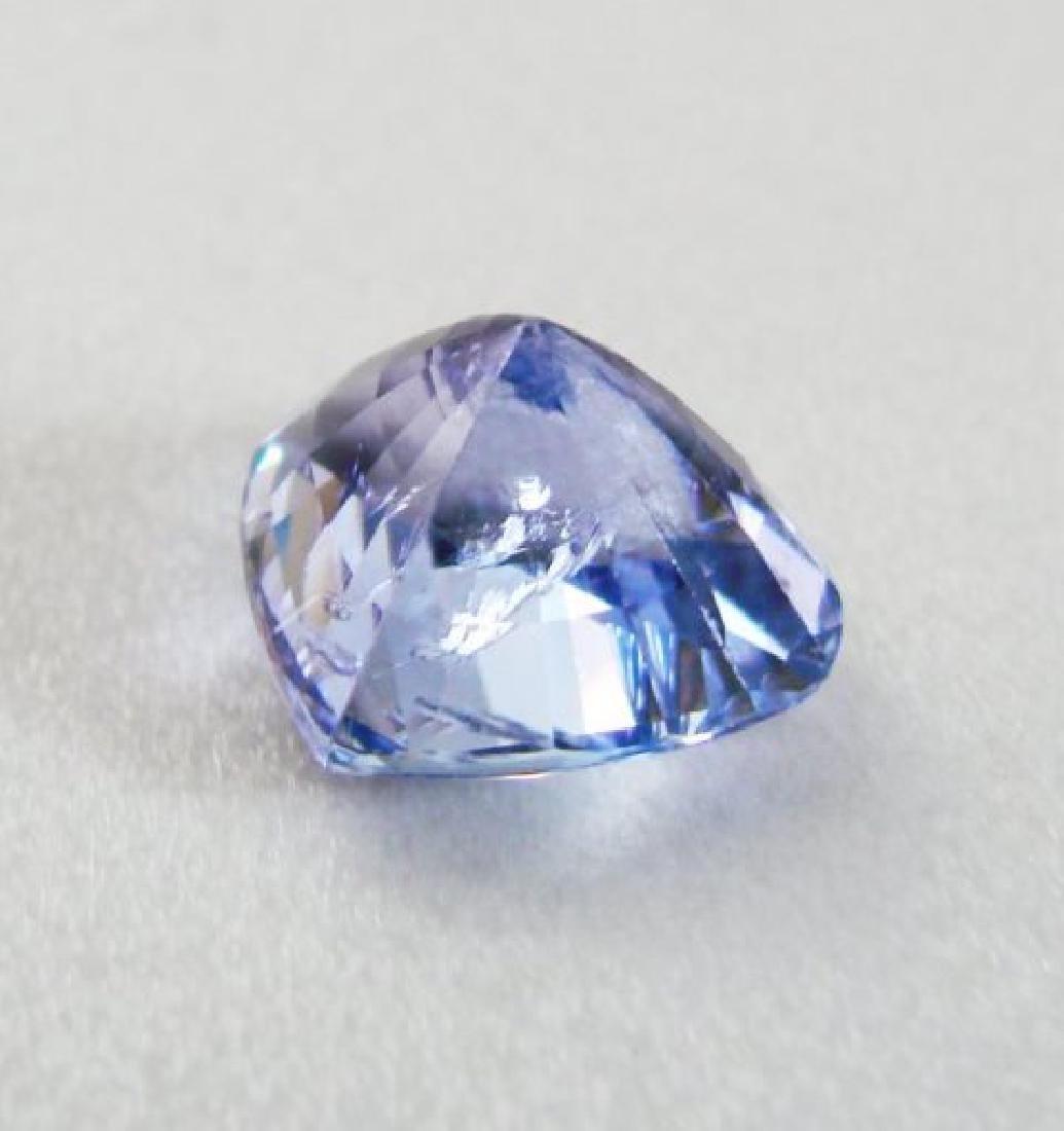 Natural Tanzanite Heart Facet 10.04Ct 14.4x12x9.5mm - 3