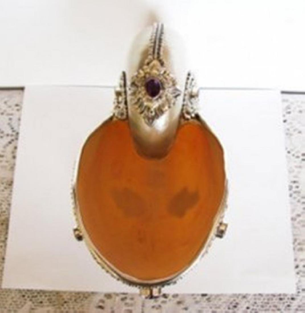 Collectible Item Snail Sell/Gemstone/Silver 925 - 5