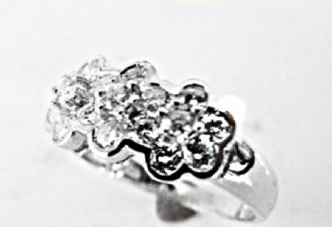 Rosita Design Diamond Ring 1.00 Carat 14k W/g
