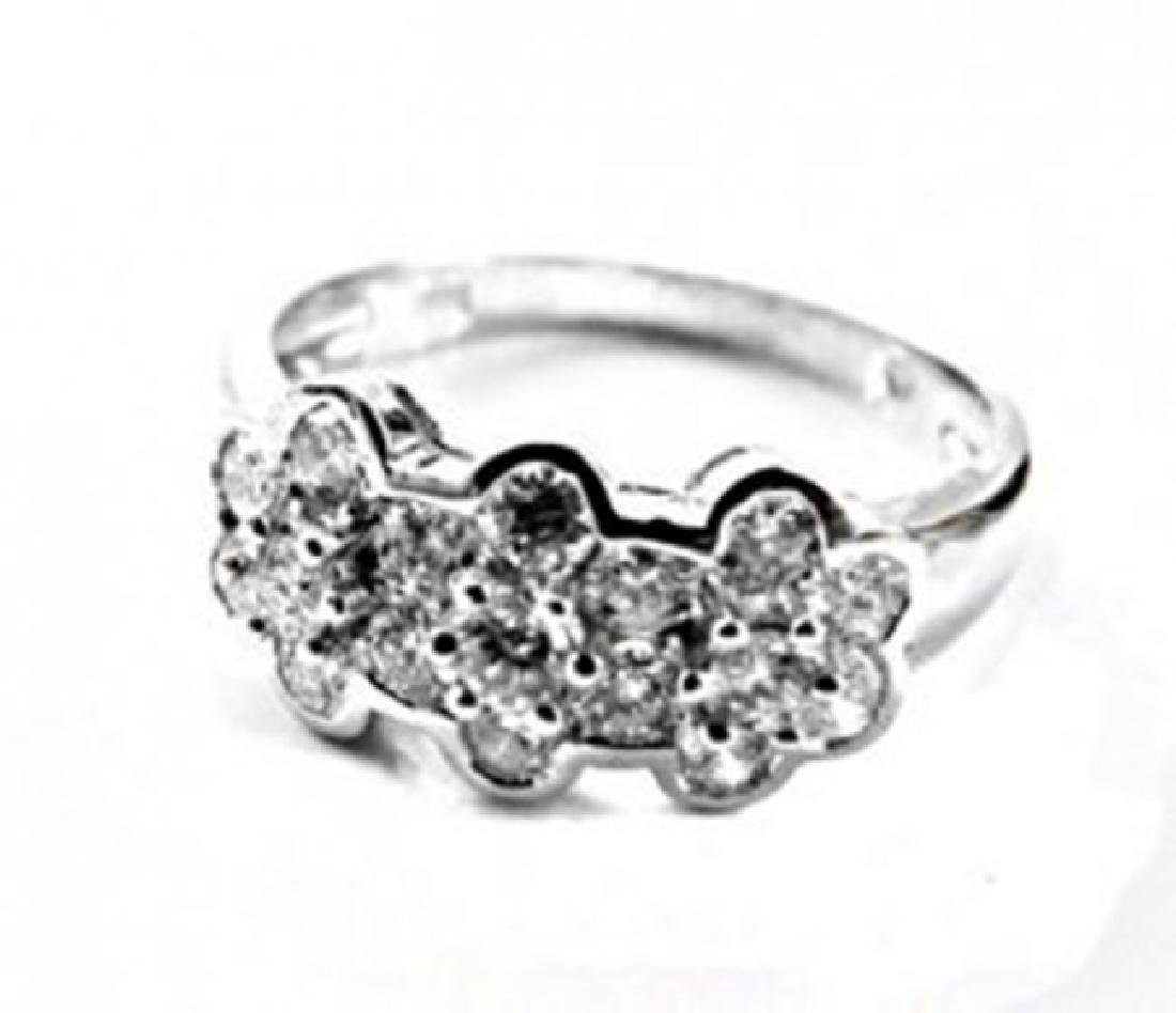 Rosita Design Diamond Ring 1.00 Carat 14k W/g - 2