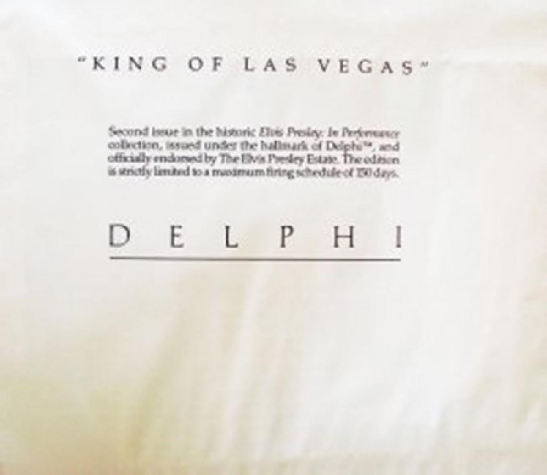 "ELVIS Presley ""King Of LAS VEGAS"" Bruce Emmett - 5"