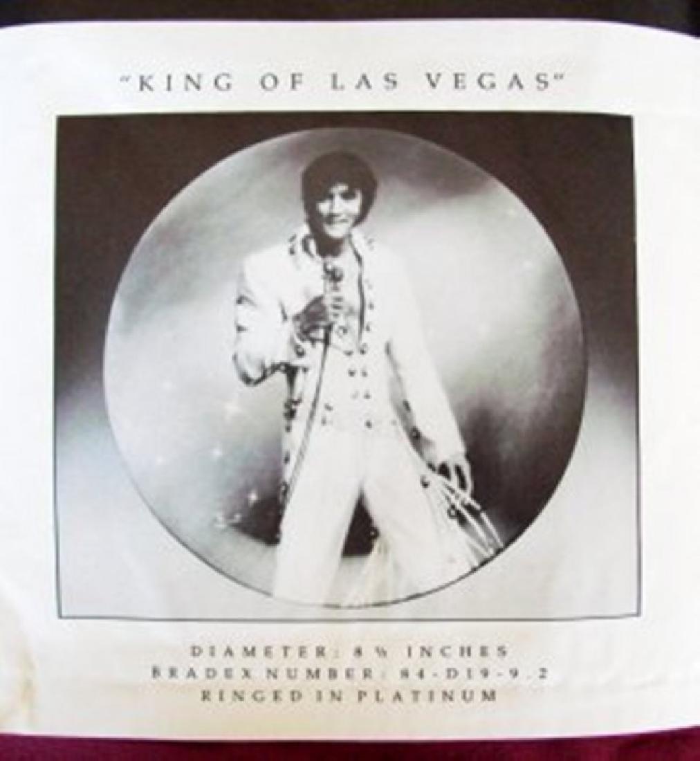 "ELVIS Presley ""King Of LAS VEGAS"" Bruce Emmett - 7"