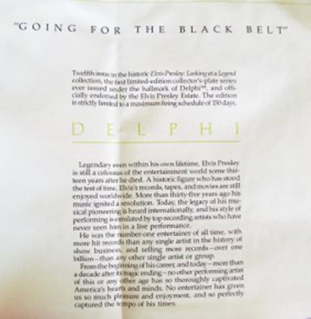 Elvis Presley Going For The Black Belt - 5