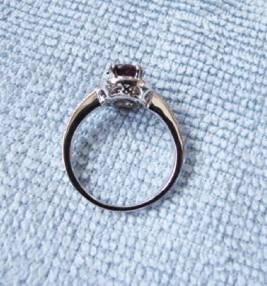 Anniversary Ruby Diamond Ring 2.80Ct 14k W/g - 4