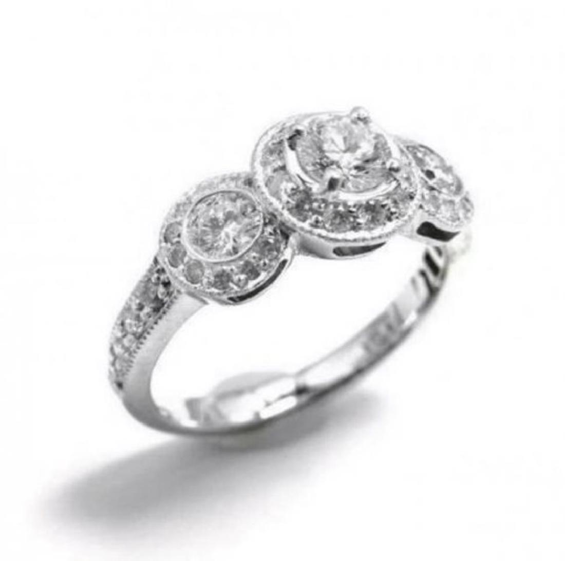 Engagement Daimond Rind 1.49 Ct 14K W/g