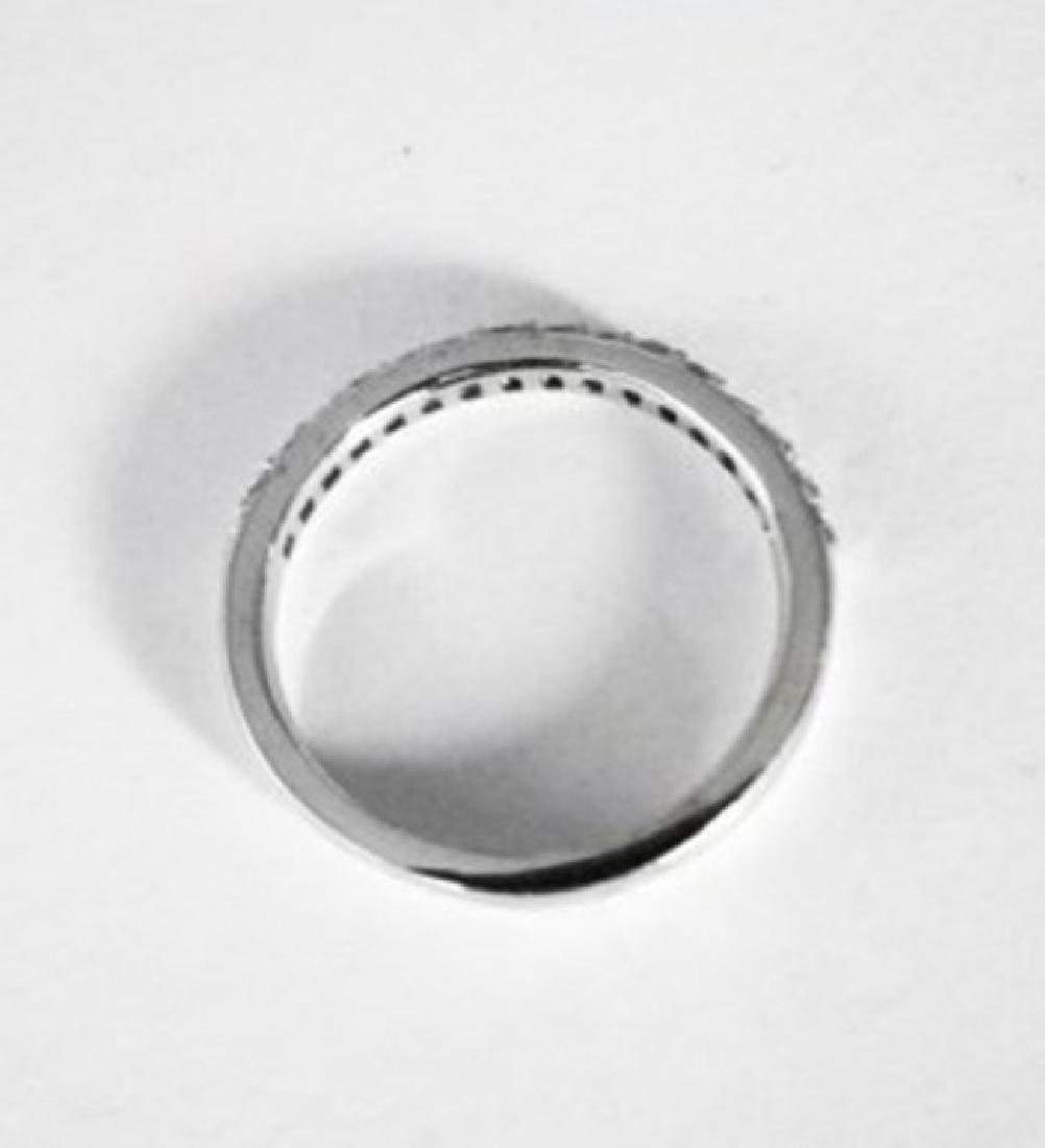 Wedding Ring Diamond .40 Carat 14K White Gold - 4