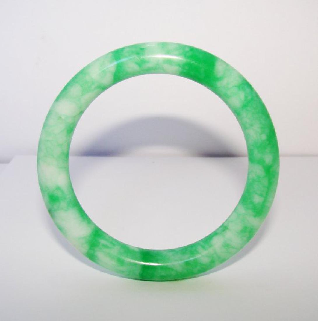 Natural Jade Bangle Grade A Inner Diameter: 57mm