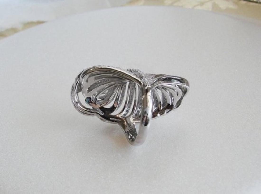 Creation Diamond Rings 3.45Ct 18K W/g Overlay - 4