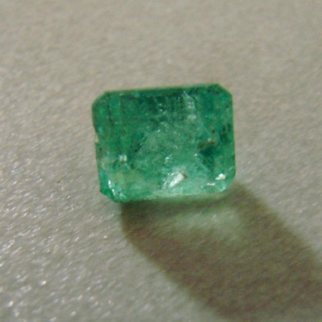 Colombial Emerald Octagon 1.71Ct 7.4x6.2x5.5 mm - 2