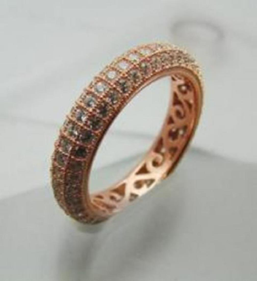 Creation Diamond Ring 2.00Ct 18k Rose Gold Over - 2