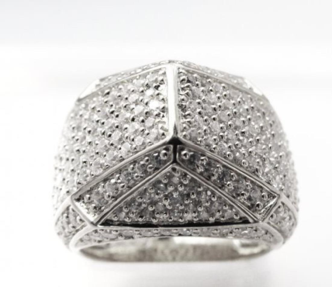 Creation Diamond Ring 3.00Ct 18kW/g Overlay