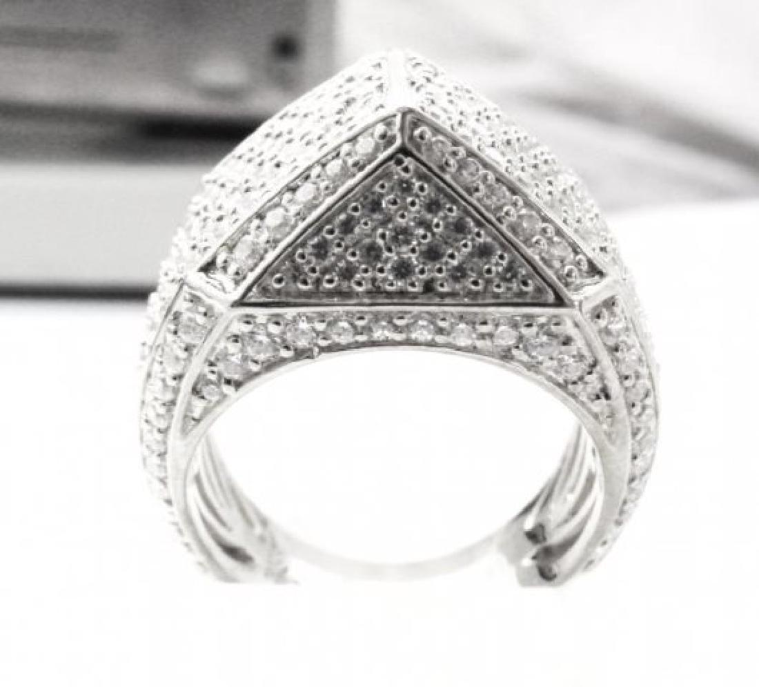 Creation Diamond Ring 3.00Ct 18kW/g Overlay - 2