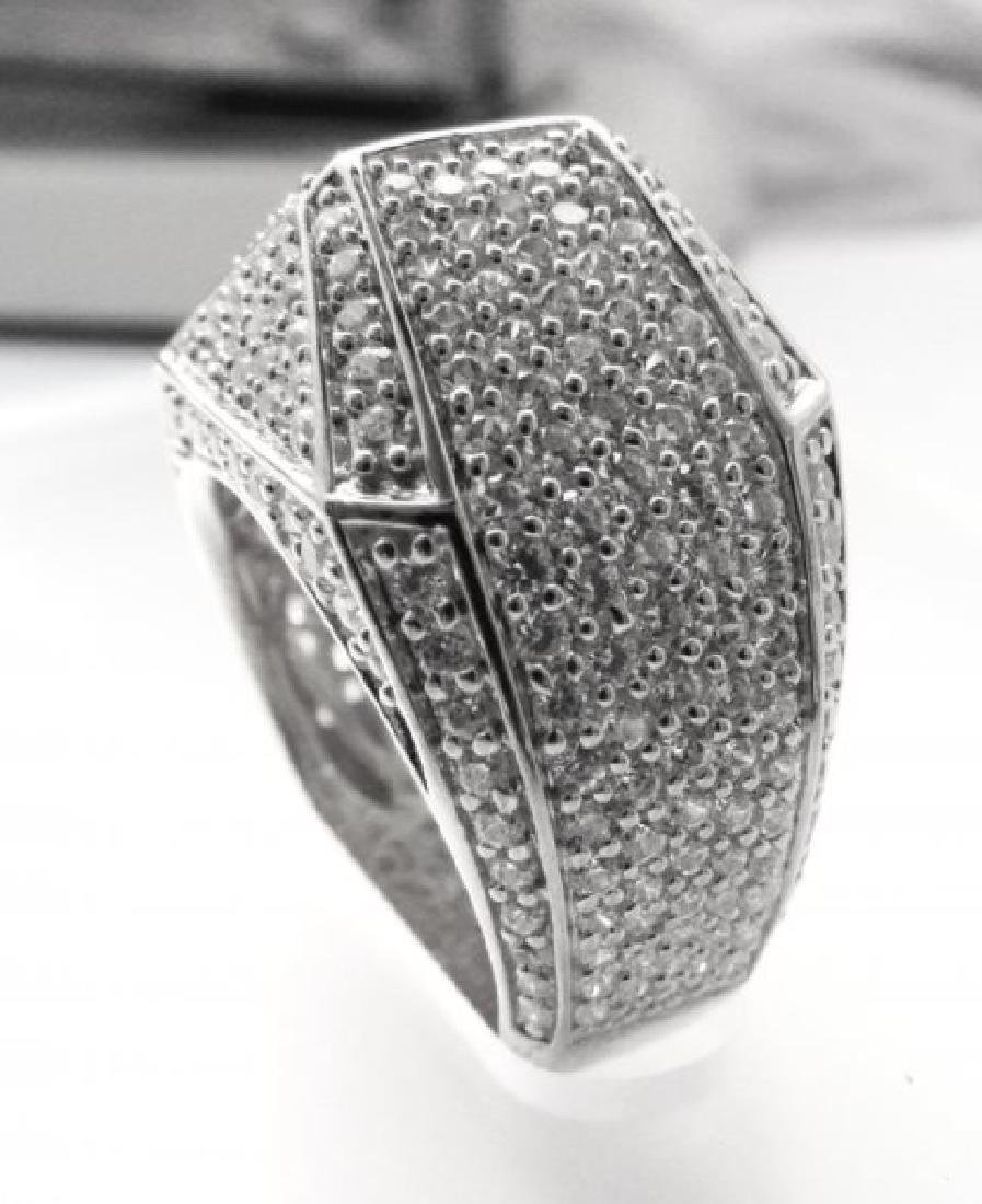 Creation Diamond Ring 3.00Ct 18kW/g Overlay - 3