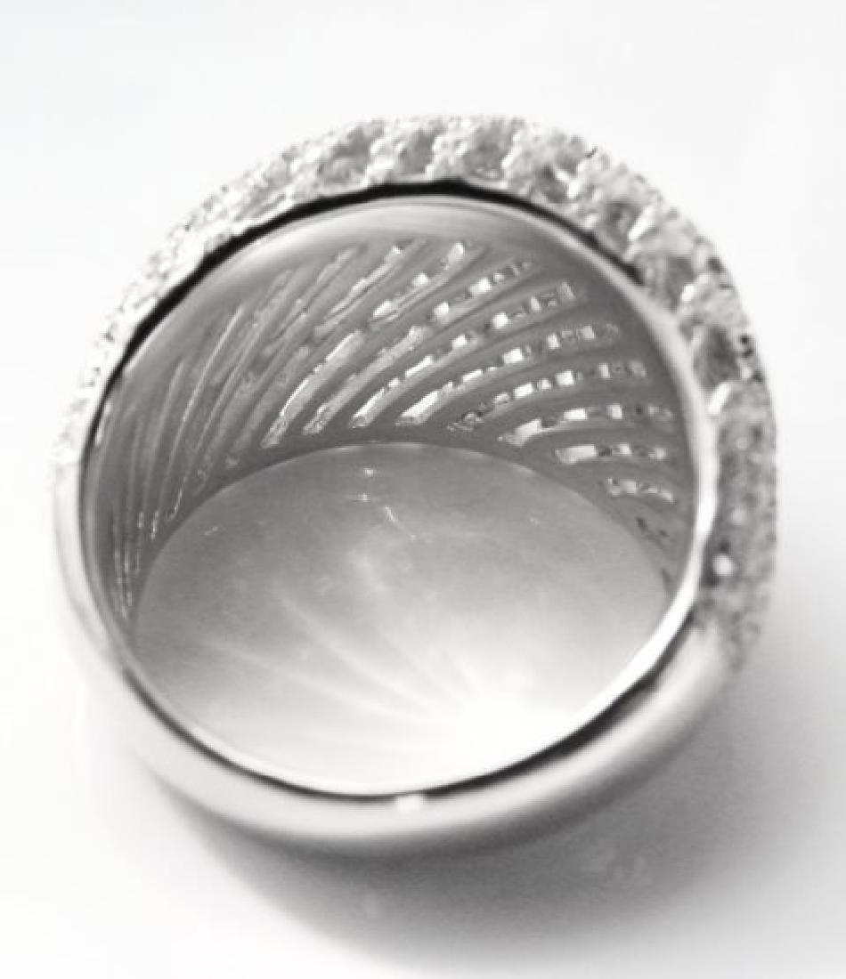 Creation Diamond Ring 2.50Ct 18k W/g Overlay - 4