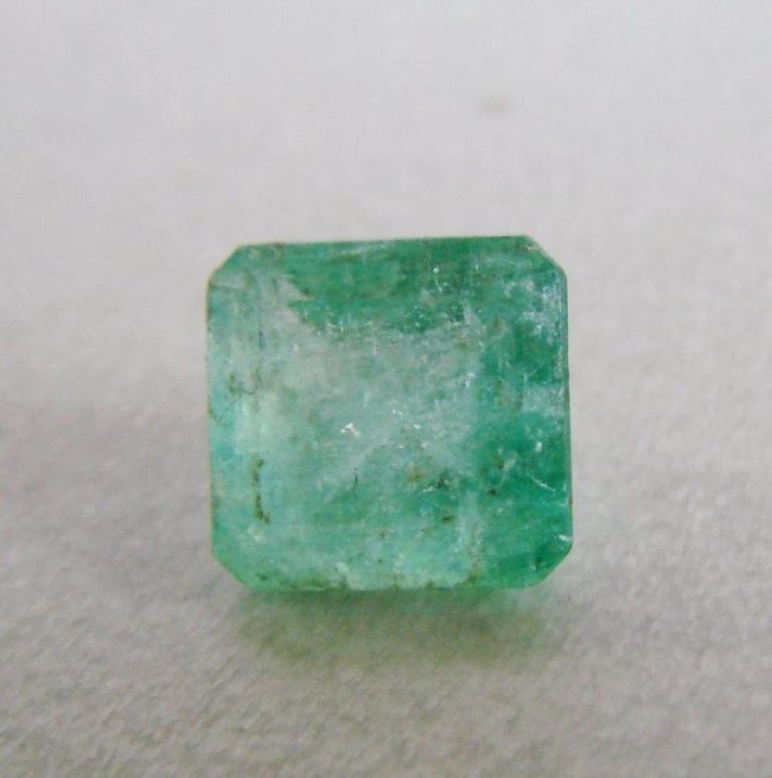 Colombia Emerald Octagon Facet 2.49Ct 8.3x8x5.5 mm