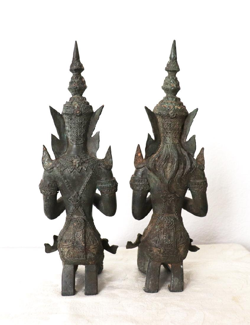 Khmer Royal Pairs of Guardian Angle Statue 12th Century - 3