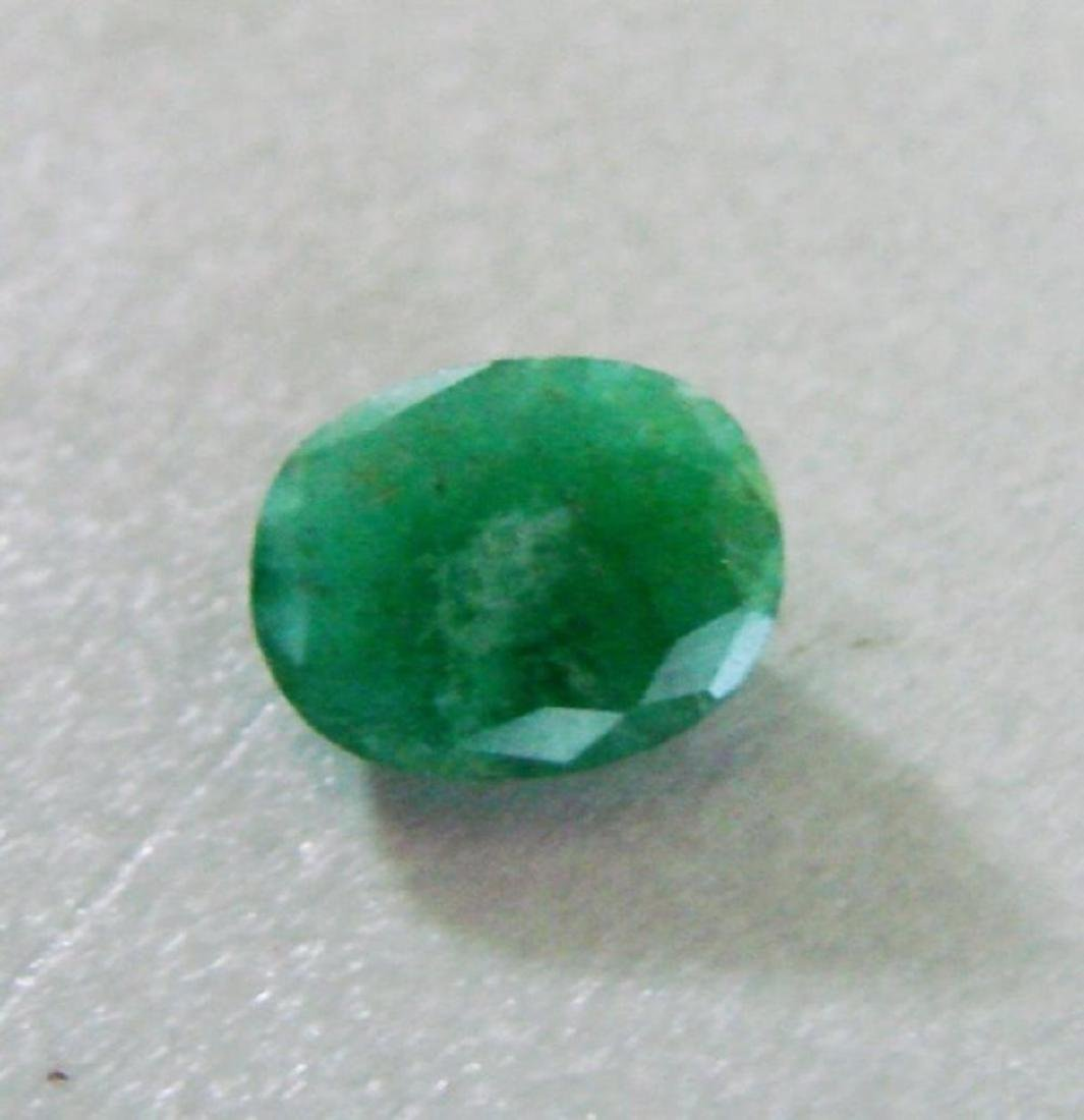 Natural Emerald Oval Shape 1.52Ct 8.7x7x3.6 mm